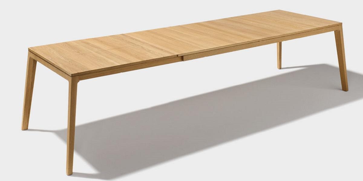 Tisch mylon biom bel bonn for Auszugstisch holz