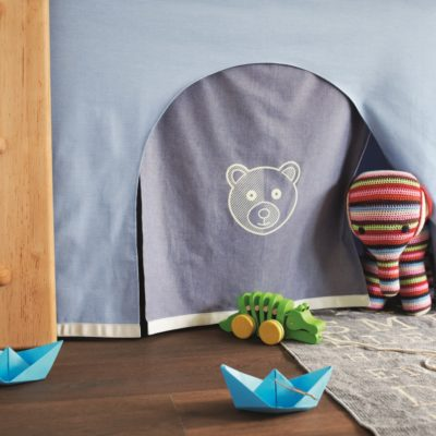Eingang Kinderbett Bärenhöhle