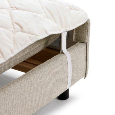 Schlafsofa PETRA Baumwollauflage mit Fixierschlaufe