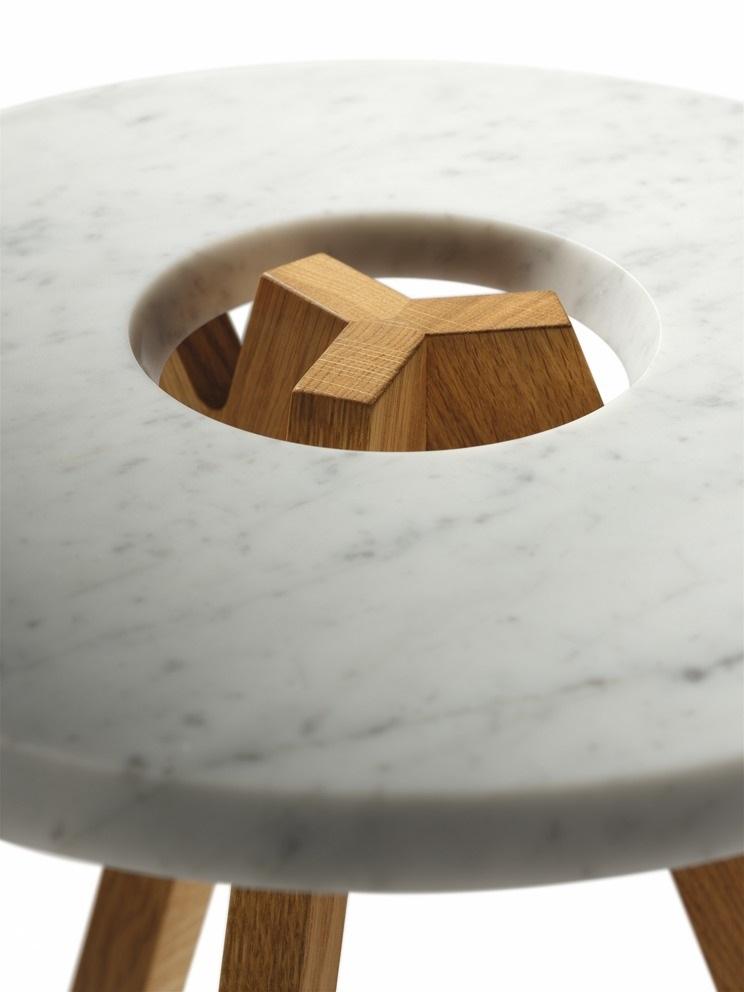 Beistelltisch treeo biom bel bonn for Beistelltisch marmorplatte