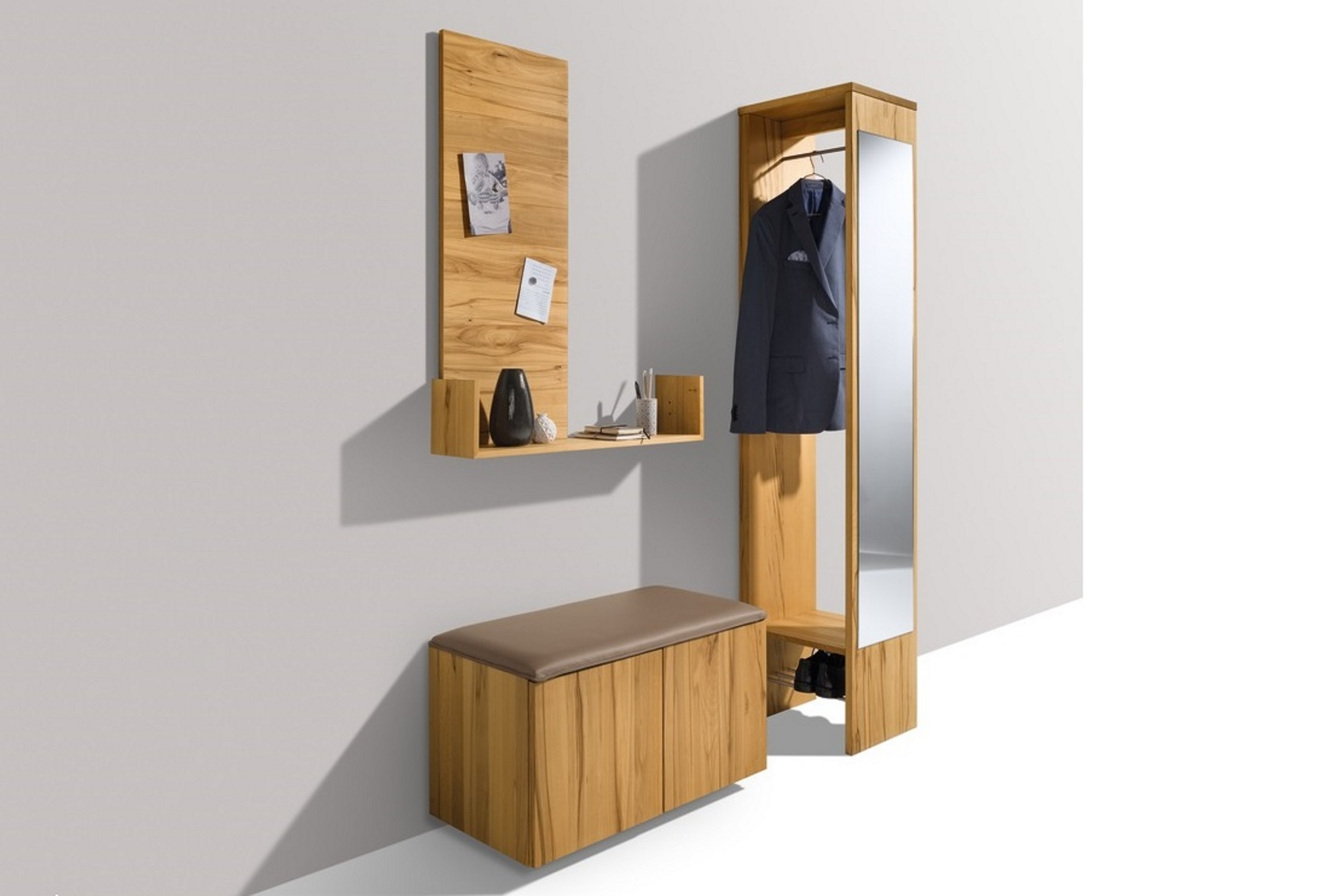 garderobe mit ablage garderobe mit ablage dielen. Black Bedroom Furniture Sets. Home Design Ideas