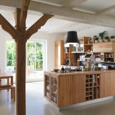 Küche Rondo in Kernbuche