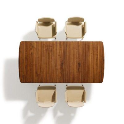 Tisch Flaye mit 4 Stühlen