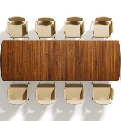 Auszugstisch Flaye mit 10 Stühlen