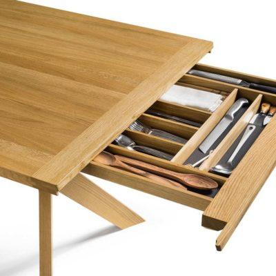 Tisch yps mit Bestecklade