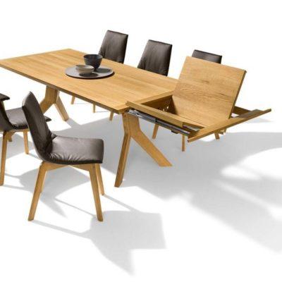 Tisch yps mit Einlegeplatte zum Ausschwenken