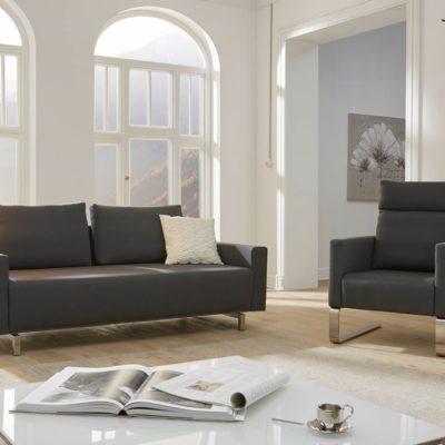 Sofasystem Giglio mit Sofa und Schwingsessel