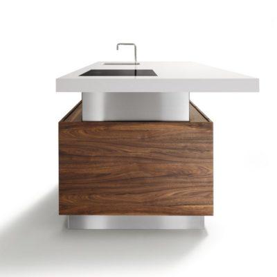 Kücheninsel k7 höhenverstellbar von 74 bis 114 cm