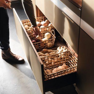 Küche k7 Unterschrank mit 2 Ladenzügen