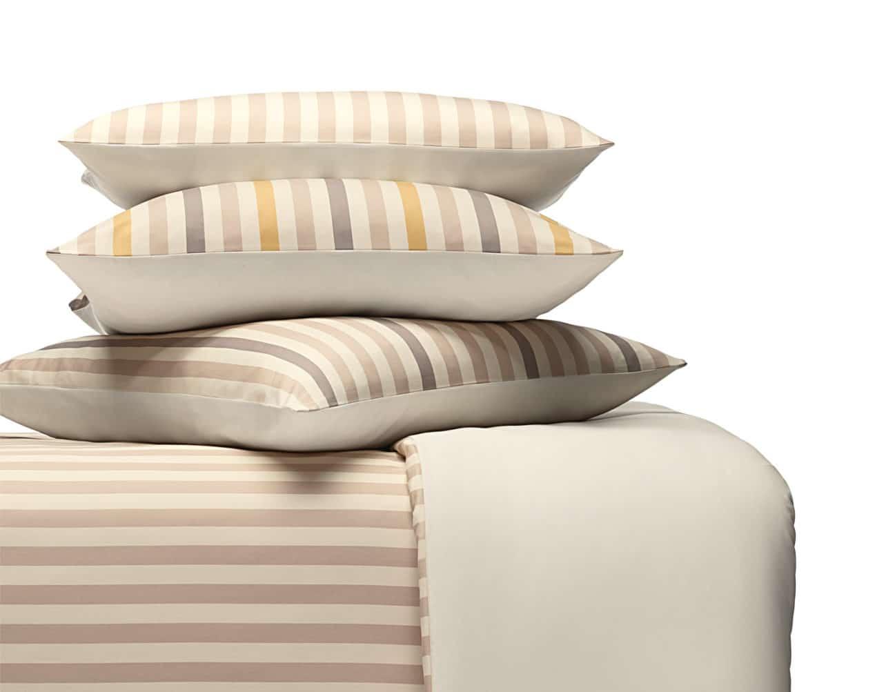 Bettwäsche Satin Linell aus kbA Baumwolle