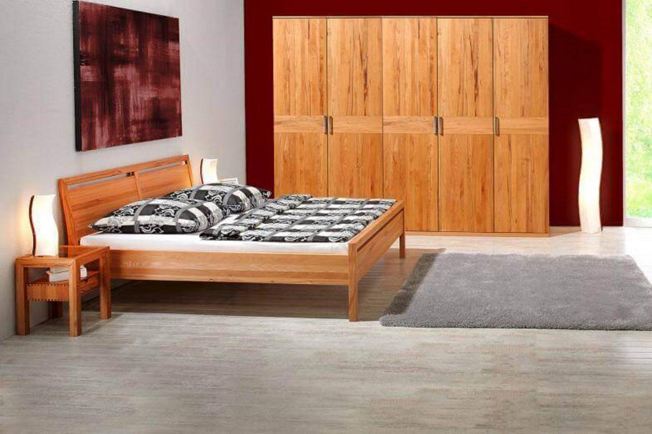 Schlafzimmer Lucca in Kernbuche