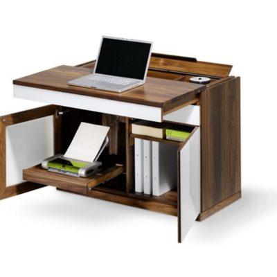 Sekretär cubus quadrat als Laptop-Arbeitsplatz