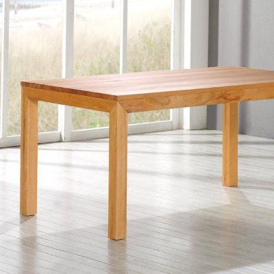 Tisch Lucca als Auszugstisch im zusammengeschobenen Zustand