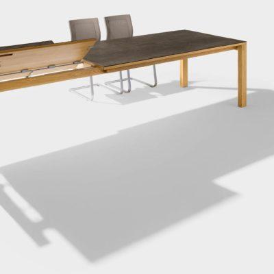 Tisch magnum als Auszugstisch