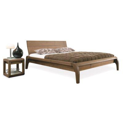 Bett und Nachttisch MADRAL
