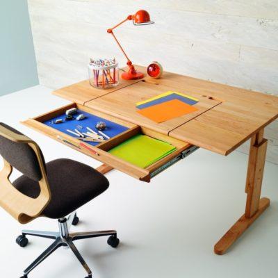 Schreibtisch MOBILE, Schublade optional