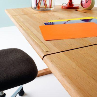 Schreibtisch MOBILE, Buchanschlagleiste inaktiv