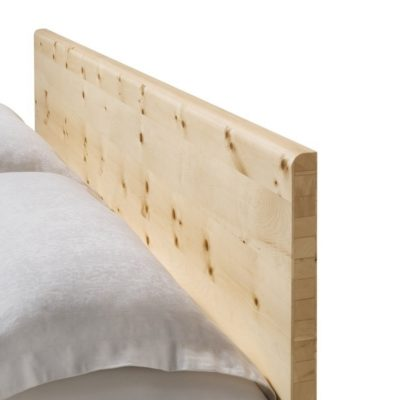 Bett nox mit Kopfhaupt in Zirbe