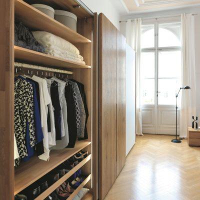 Kleiderschrank nox ein Beispiel für die Innengestaltung