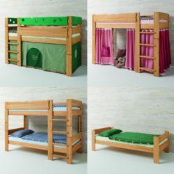Kinder- und Jugendbetten