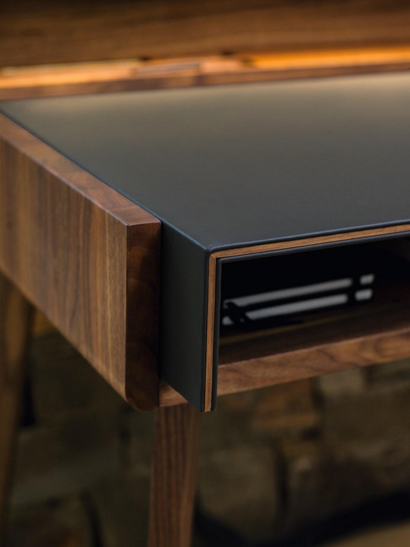 schreibtisch zum ausziehen. Black Bedroom Furniture Sets. Home Design Ideas
