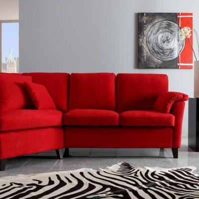 Sofasystem Vienna; hier die Kombination Relaxecke mit 2-Sitzer