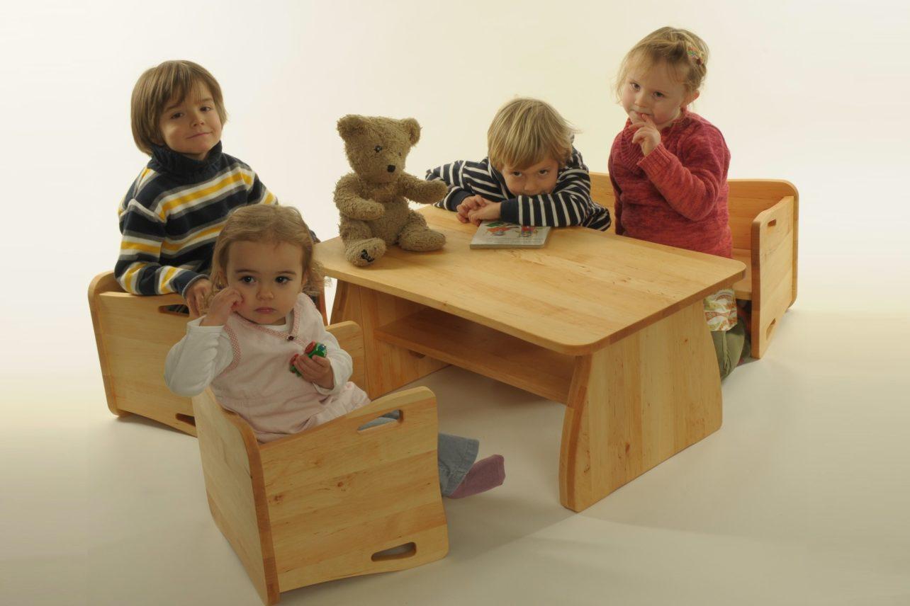 Kindersitzgruppe TrioLino in Erle