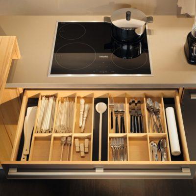 Küche l1 mit Ladeneinteilung Set 2