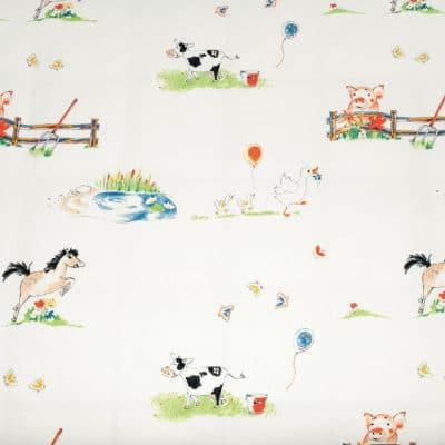 Kinderbettwäsche Auf dem Lande aus kbA Baumwolle