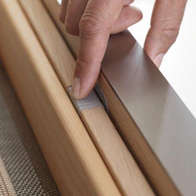 Küche filigno-Detail Mitnehmermechanismus