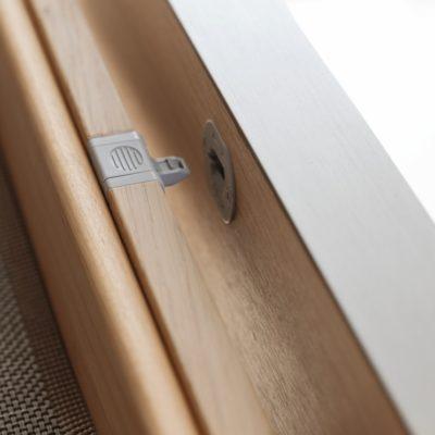 Küche filigno-Detail Mitnehmermechanismus geöffnet