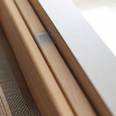 Küche filigno-Detail Mitnehmermechanismus verriegelt