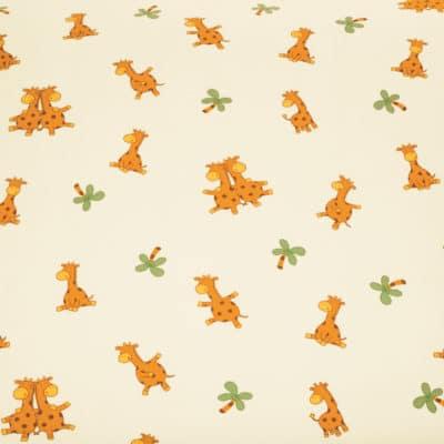 Kinderbettwäsche Giraffe aus kbA Baumwolle