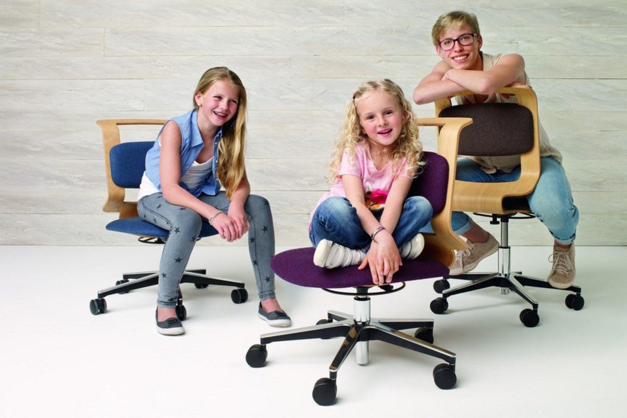 Schreibtisch-Drehstuhl mobile