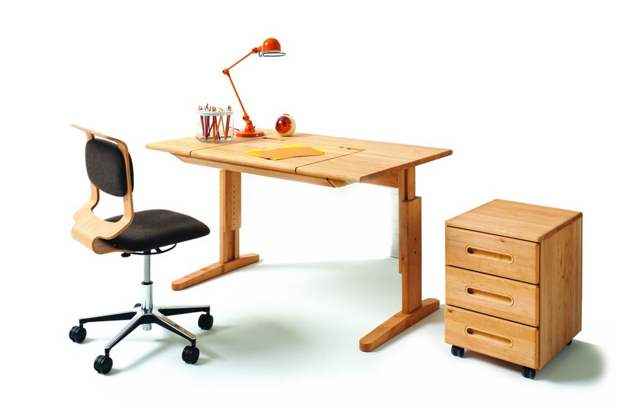 Astounding Schreibtisch Mit Rollcontainer Foto Von Schreibtisch-drehstuhl Mobile Und Mobile