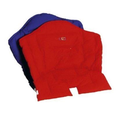 Kinderhochstuhl M1 +M2 mit Sitzkissen blau oder rot