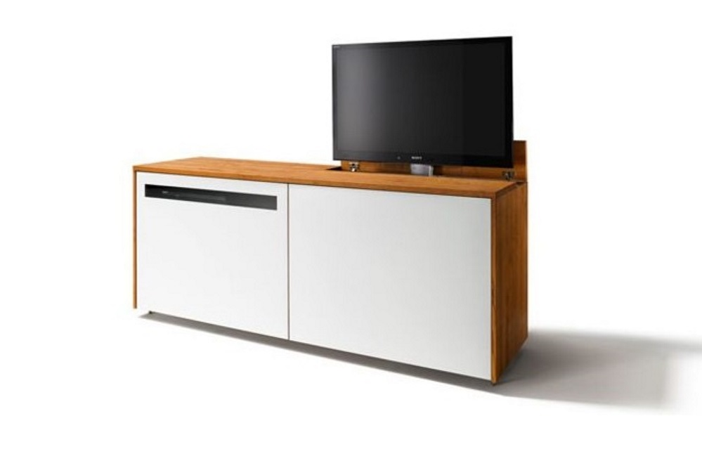 sideboard cubus tv lift biom bel bonn. Black Bedroom Furniture Sets. Home Design Ideas