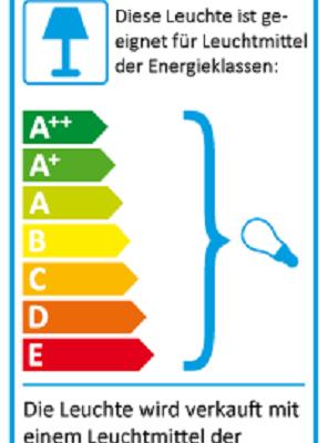 Eu-Energielabel-Stehleuchte Arbor