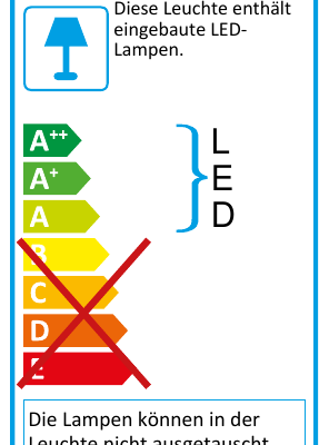 Eu-Energielabel-Tischleuchte FRITS