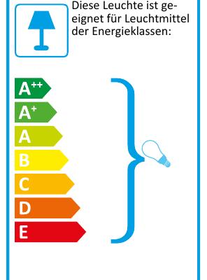 Eu-Energielabel-Tischleuchte PIT Metall