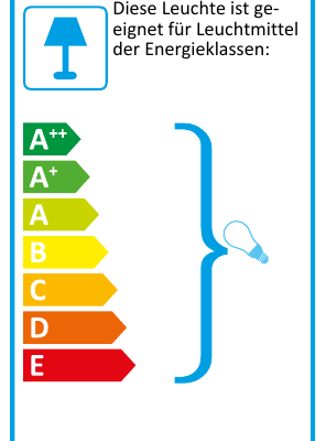 Eu-Energielabel-Stehleuchte STEN