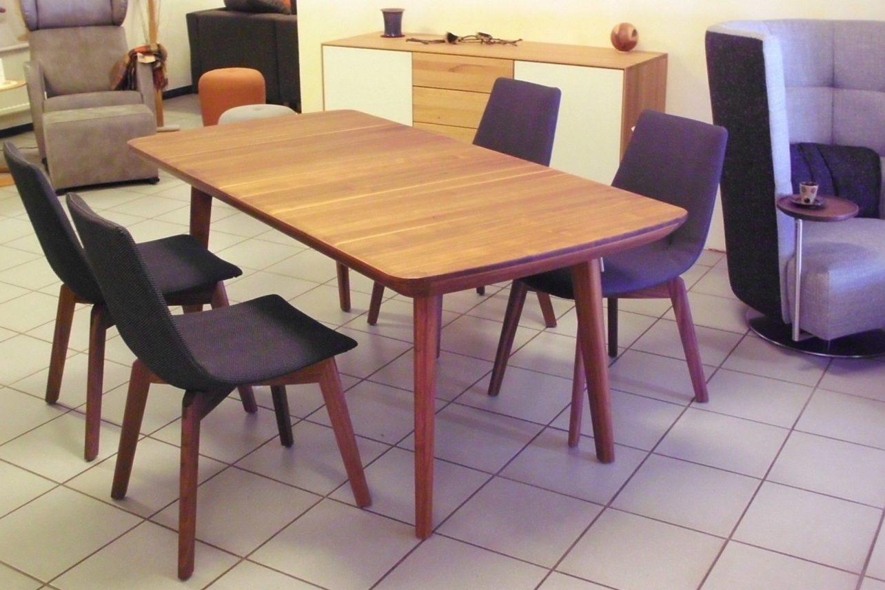 Tisch flaye Nussbaum