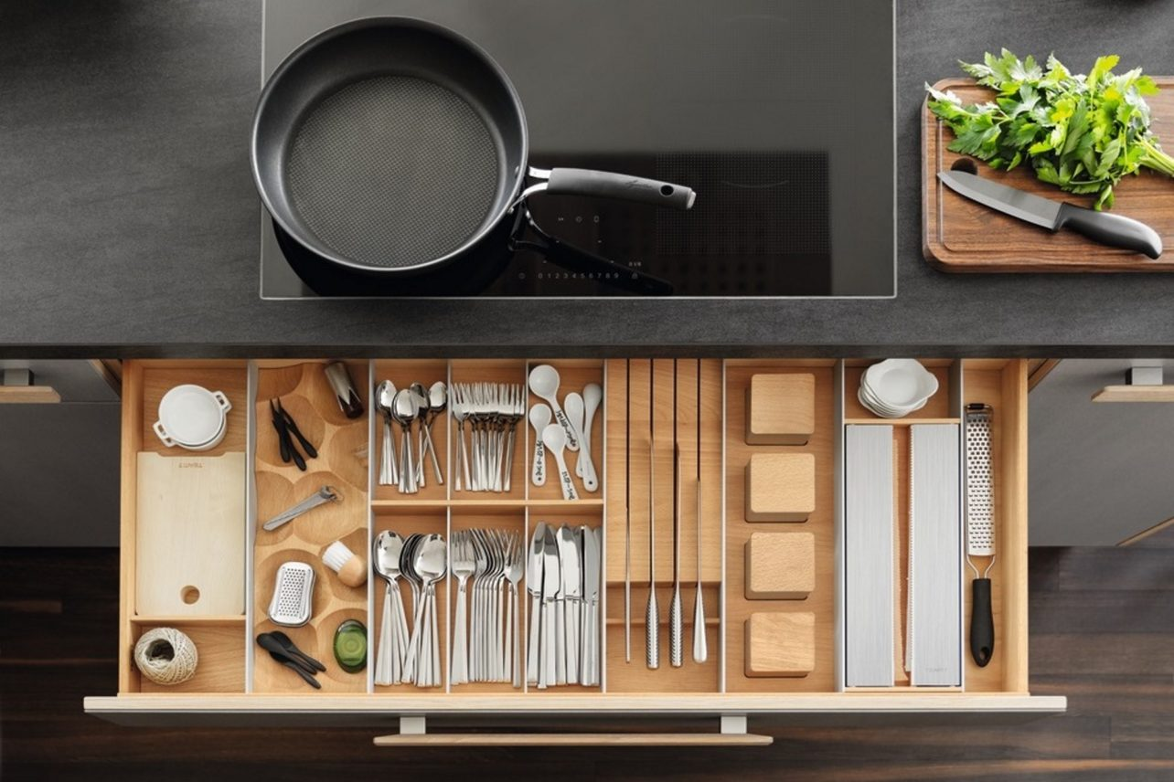 Küchenschubladen