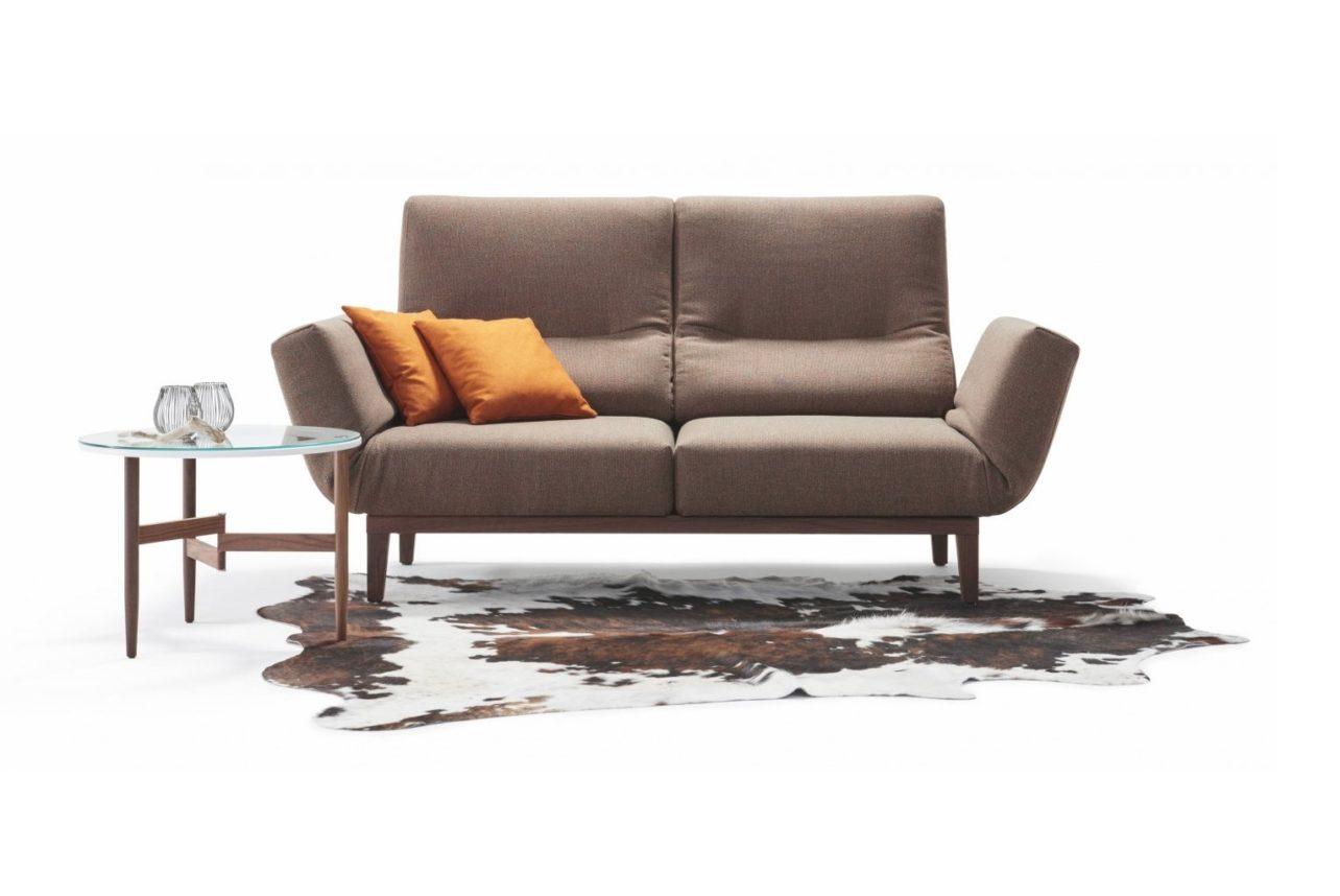 Sofasystem CHIMBA als Sofa mit 2 Sitzen mit Seitenteilen links und rechts